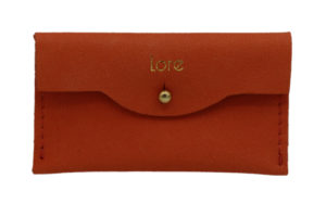 Lore Wallet in Coral